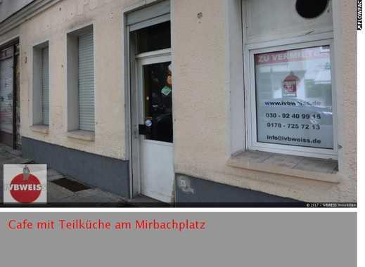 Mögliches Cafe mit Teilküche am Mirbachplatz such neuen Betreiber (Ausbau durch Eigentümer)