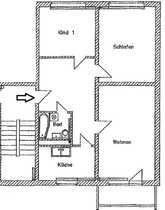 helle 3-Zimmer Wohnung in Bernau -