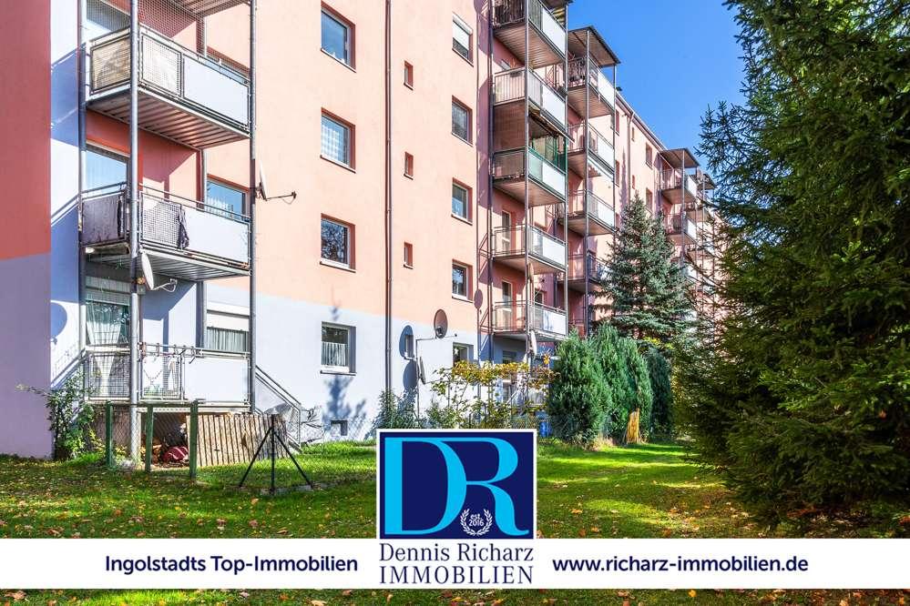 Zu Vermieten: 2-Zimmer-Wohnung mit Balkon und EBK in Top-Lage! in Südost (Ingolstadt)