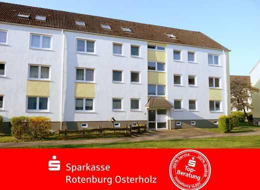 Schwanewede: Vermietetes 1-Zimmer-Apartment mit Sonnenbalkon und großem Kellerraum