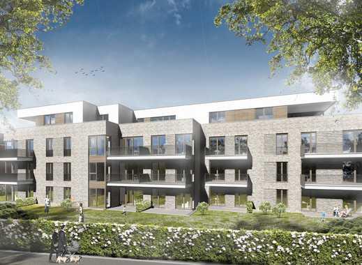 NEUBAU im Altstadtquartier Wedel: Letztes Penthouse mit 2 Dachterrassen, Aufzug, Keller & TG