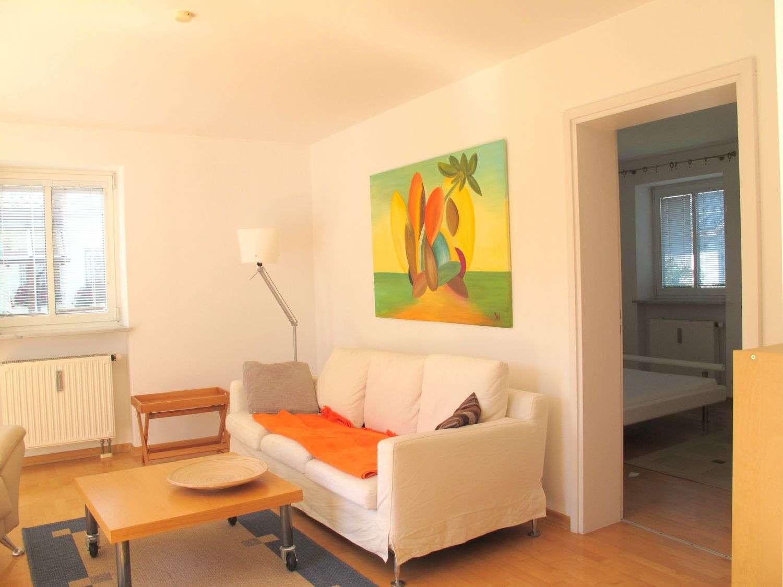 Exklusive möblierte ruhige Garten Wohnung mit Kamin in Trudering (München)