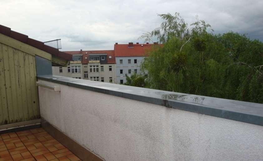 Balkon mit Kammer