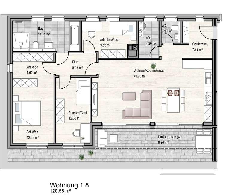 STG Haus 1_Wg8