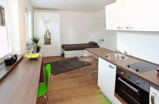 Modernes, möbliertes Einzelappartement in Clausthal-Zellerfeld