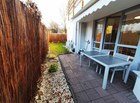 Möblierte, moderne 3-Zimmer-Gartenwohnung in Milbertshofen in Milbertshofen (München)