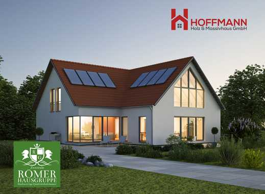 "n. Abriss: Top ""Römer""-DHH/EFH, ab 120m2 Wfl, KFW55, schlüsselfertig   Einzug in 8 Monaten"