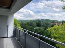 Penthouse mit Blick ins Grüne