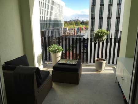 Hochwertig möbliertes 1-Zimmer-Business-Appartement am Olympiapark in Milbertshofen (München)