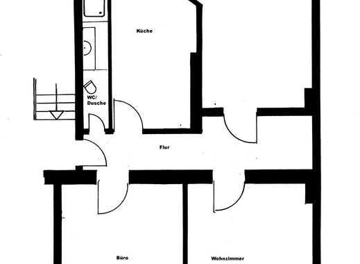 Exklusive 3-Zimmer-Wohnung mit Balkon und tollen Dielenböden
