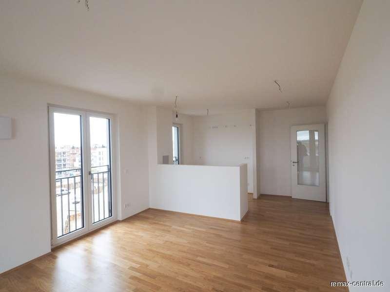 Neubau Erstbezug: 3-Zimmer-Wohnung an der grünen Stadtgrenze! in Aubing (München)