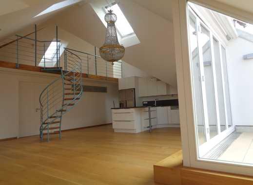 Luxus-Dachgeschoss-Wohnung in der Maxvorstadt