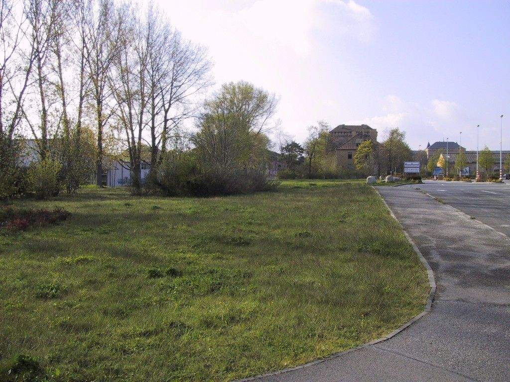 Straße am Parkplatz