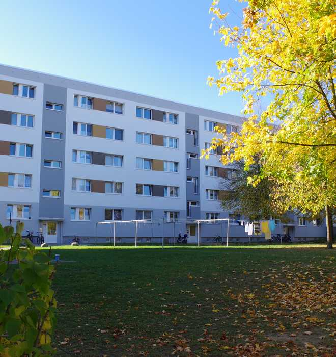 Große 3-Raumwohnung mit schönem Balkon