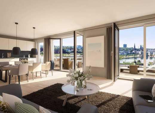 Wohnen am Phoenix See! 4 Zimmer mit besonderem Seeblick, Dachterrasse und Bad Ensuite!
