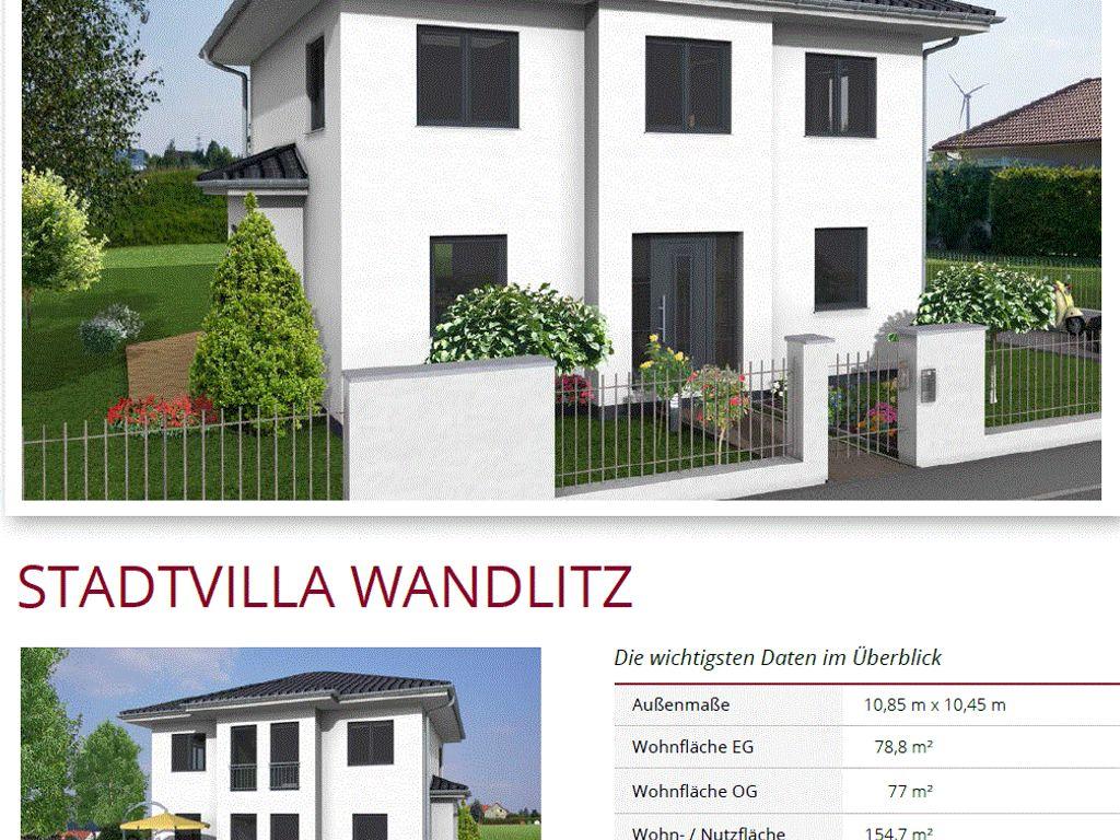 NEWE Stadtvilla Wandlitz
