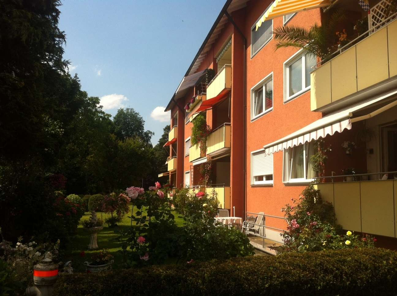 2 Zimmer-Wohnung mit Bergblick