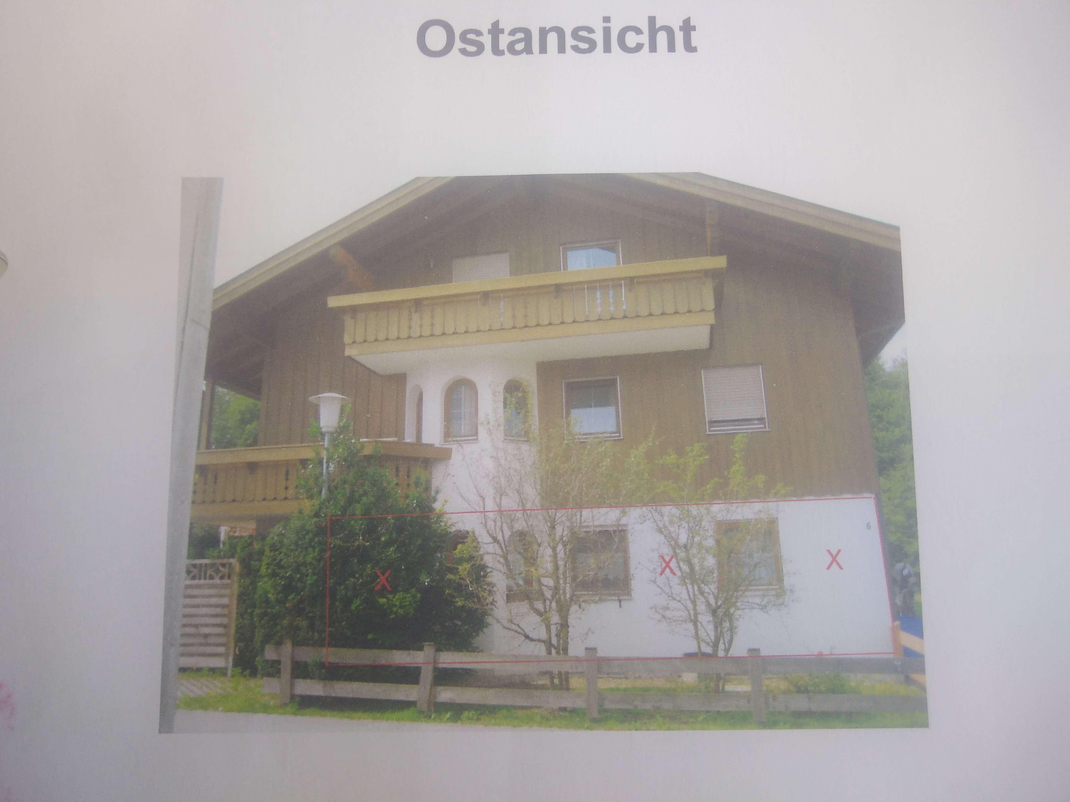 2-Zimmer-Erdgeschosswohnung mit Terasse und EBK in Traunstein in