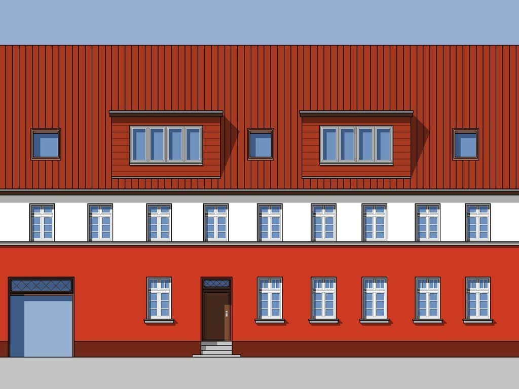 Ansicht Haus nach Sanierung