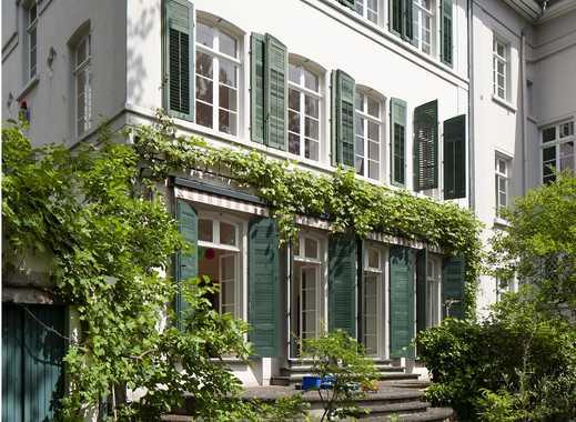 Altbau-Stadtvilla mit Sonnengarten für max. ein Jahr zu vermieten