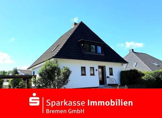 Gepflegtes freistehendes Zweifamilienhaus mit Sonnengrundstück in Bremen-Huchting