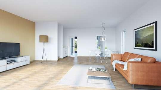 Attraktives Reihenmittelhaus mit 4 - 6 Zimmern und geräumigen Keller