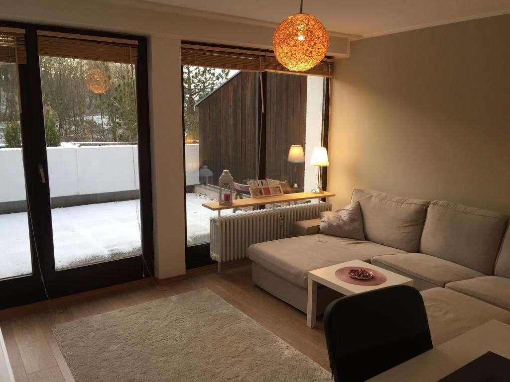 Teilmöblierte 2-Zimmer-Terrassenwohnung mit großer Terrasse, EBK und Badewanne in Haidenhof Süd (Passau)