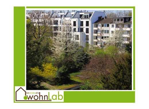Oberkassel - Markgrafenstraße, schöne 2-Zimmer-Wohnung im 3.OG mit Wintergarten