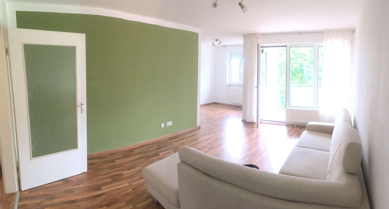 Traumhafte Renovierte 2 Zimmer Wohnung im Ortskern nahe des Einkaufsparadies des täglichen Bedarfs