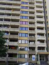 Einzimmer Wohnung mit Balkon