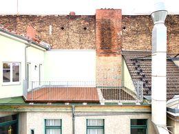Dachterrasse zum Innenhof
