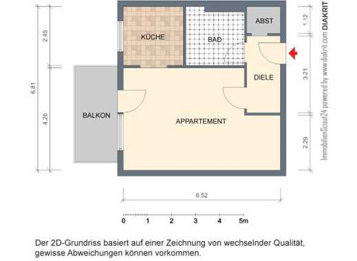Lebenswert! Top gepflegte, voll möblierte WHG mit Terrasse; Wuppertal-Elberfeld von Privat