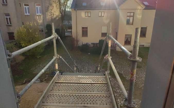 Treppenaufgang zum Treppenhaus