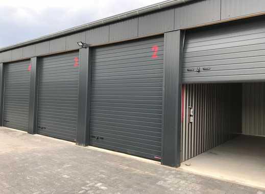 Garagen / Kleinhallen unterschiedlicher Größen im Garagenpark des Gewerbegebietes zum Verkauf !