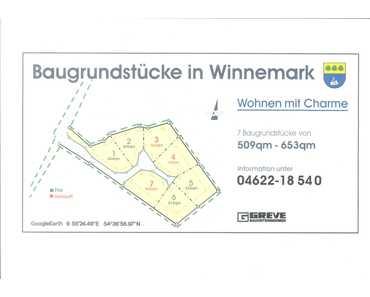 4 Baugrundstücke in Winnemark zu verkaufen in Winnemark