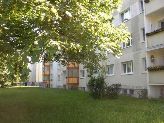 Balkonwohnung mit herrlichem Ausblick ins Grüne