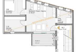 2.5 Zimmer Wohnung in Hildburghausen (Kreis)