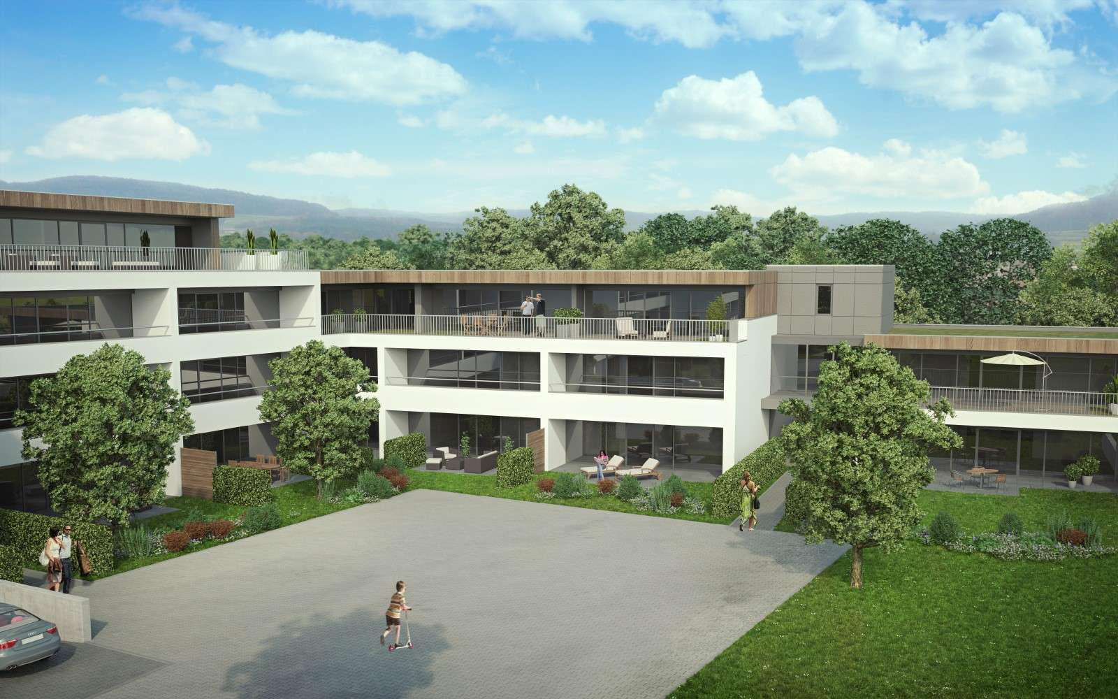 Erstbezug mit Balkon: attraktive 2-Zimmer-Wohnung in Neumarkt in der Oberpfalz