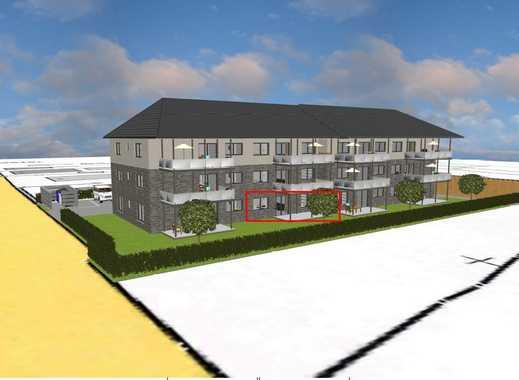 Marne: Provisionsfrei, Barrierefreie 3-Zimmer-Neubau Eigentumswohnung im Erdgeschoss