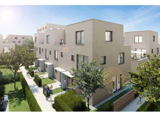 Ihr Reihenhaus direkt in Mannheim! Wohnen auf ca. 108 m² Wohnfläche mit Garten und Dachterrasse