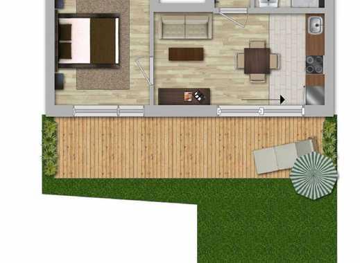*** Neubau-EG mit Gartenanteil und Aufzug ***