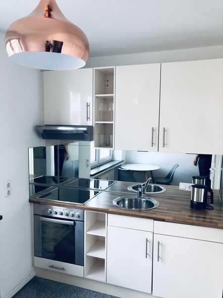 Helle, modern möblierte 1 Zimmer Wohnung in der Ludwigvorstadt mit Lift ab 01.04. zu vermieten in Ludwigsvorstadt-Isarvorstadt (München)