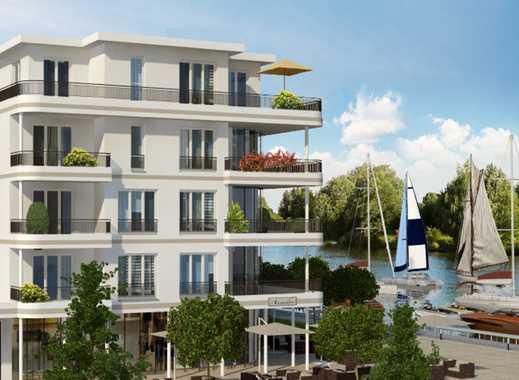 *** Individuelles Wohnambiente am Yachthafen*** 3-Zimmer-Premiumwohnung mit Dachterrasse & Balkon