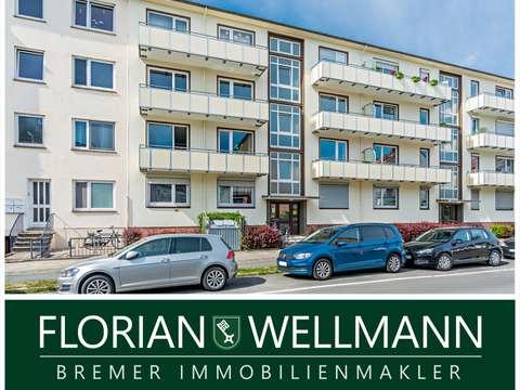 Bremen Findorff Helle Wohnung Mit 2 Grosszugigen Balkonen Im