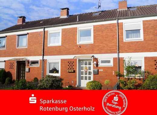 Reihenmittelhaus für eine kleine Familie in Bremervörde