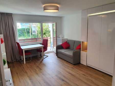 Grüner 1-Zimmer-Traum auf 36 qm, ideal für's Home Office in Solln (München)