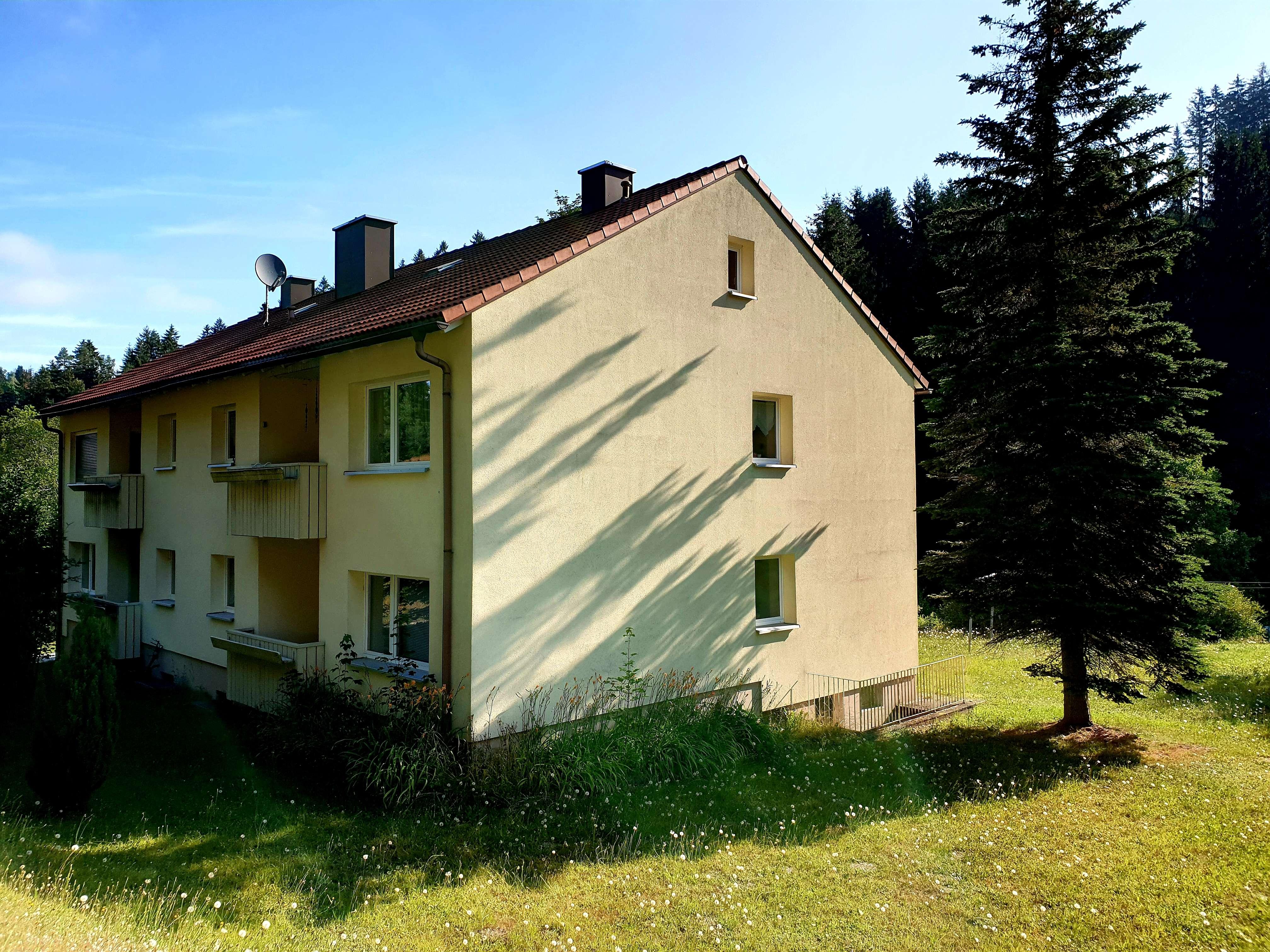 Ruhige 3-Zimmer Wohnung in herrlichen Wohnlage in Warmensteinach