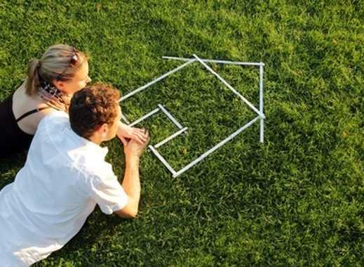 Haben Sie schon einen Bauplan für Ihr Haus? Hier ist das Grundstück!