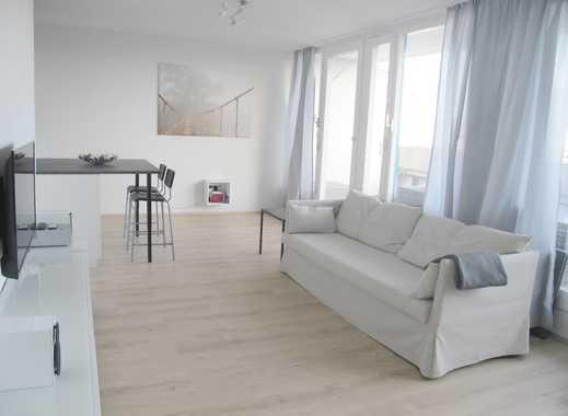 WG geeignet - Traumhafte helle möblierte 3-Zimmer-Wohnung mit Alpenblick