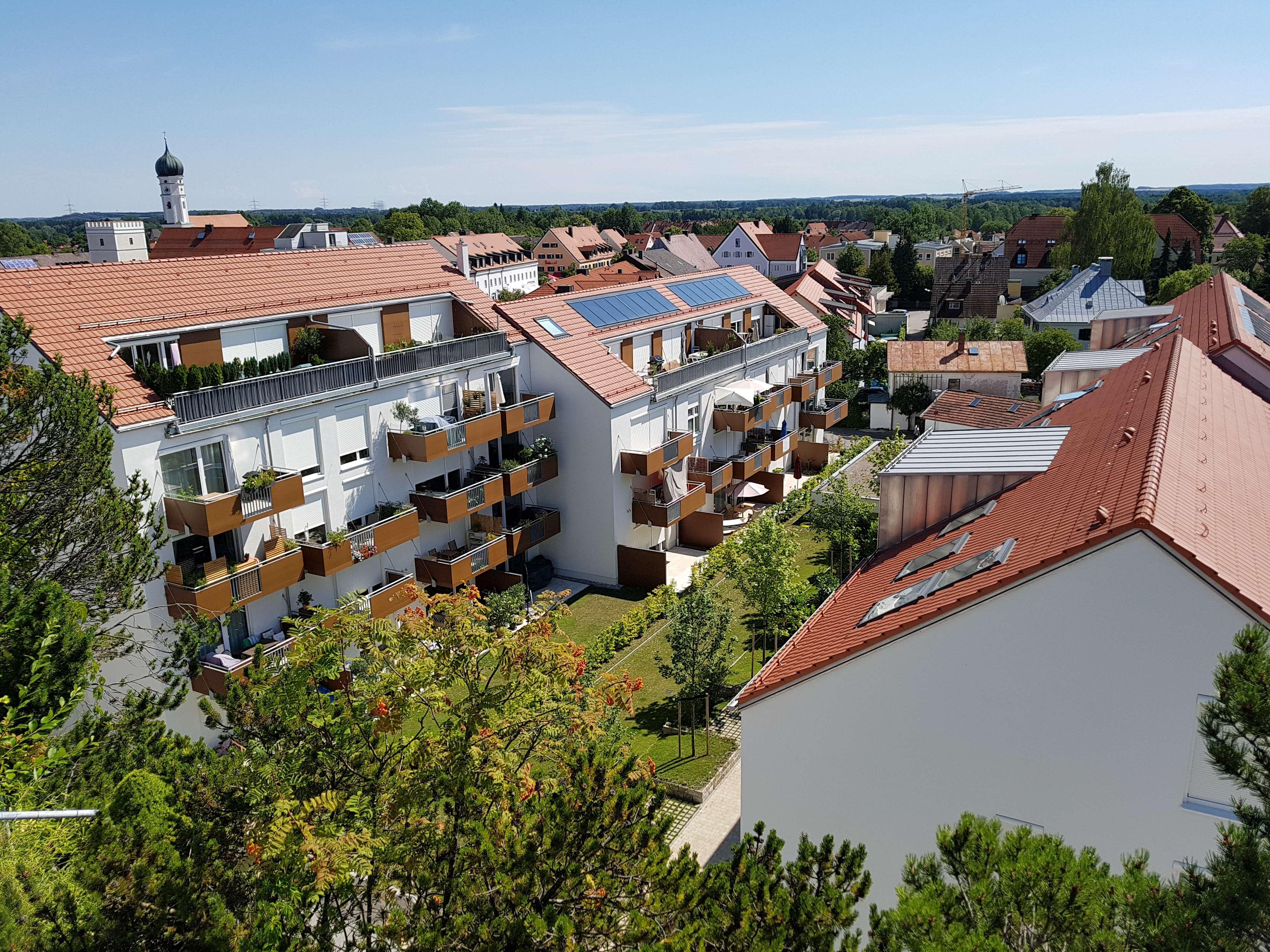 ruhiges Apartment mit Südbalkon in zentraler Lage in